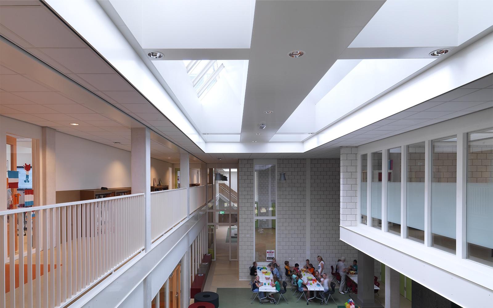 Architektonische Tageslichtkonzepte in Schulen